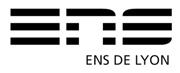 Logo ENSL